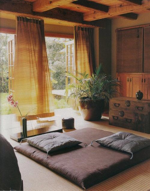 Interior de estilo zen