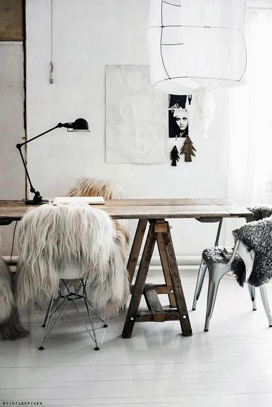 Colores neutros en la decoración nórdica