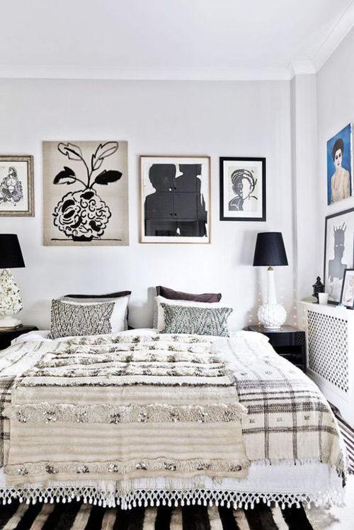 manta handira como cubre cama