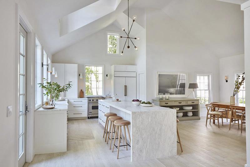 taburetes altos de madera para la cocina
