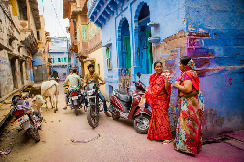 En las calles de Jodhpur