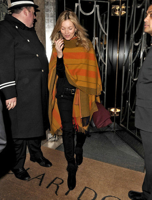 ponchos y celebrities