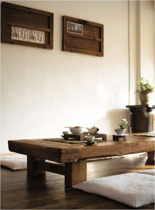 La decoración japonesa es minimalista y sobria