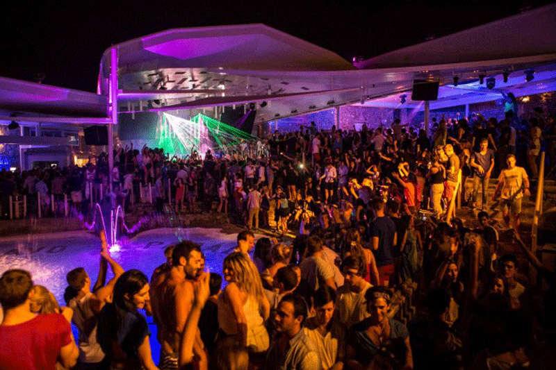 Fiesta y discotecas en Mykonos