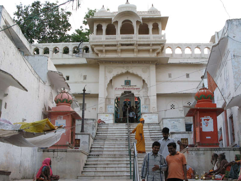 El templo de Brahma en Pushkar
