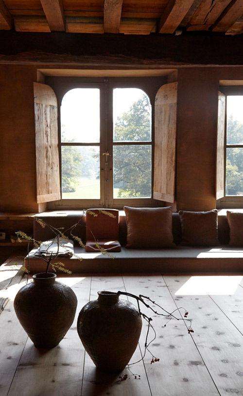 detalles wabi sabi en una casa rural