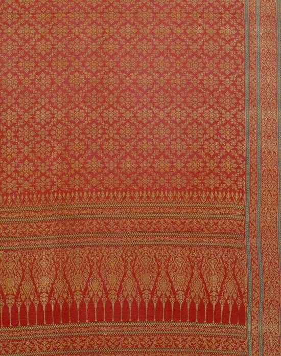 Tela de seda india