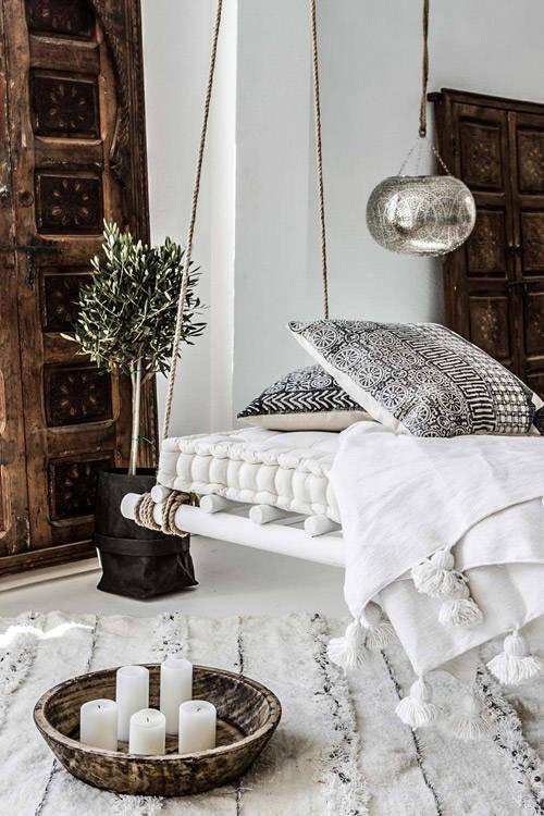 fundas de cojines de inspración étnica para decorar el hogar