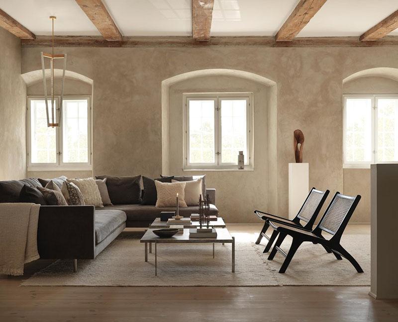 cómo decorar un salón con muebles de diseño escandinavo