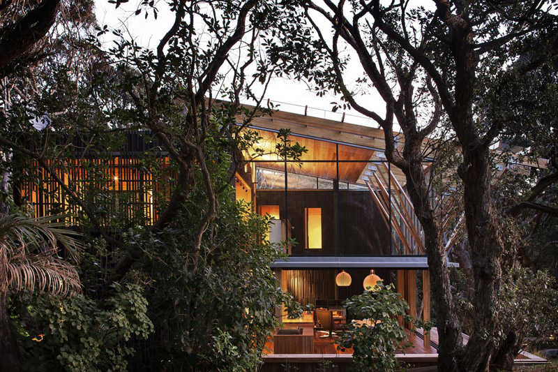 Pohutukawa house