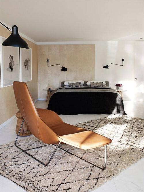 interiores con alfombras beni ouarin de marruecos