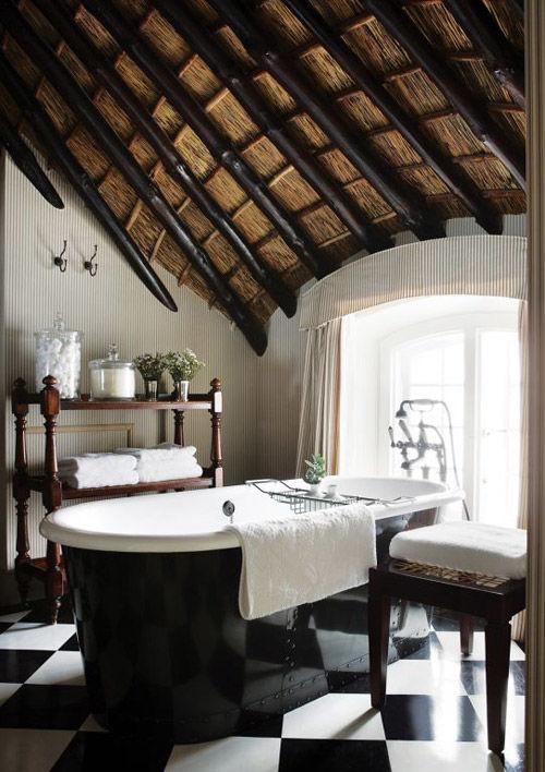 Bañeras antiguas en la decoración de hoy