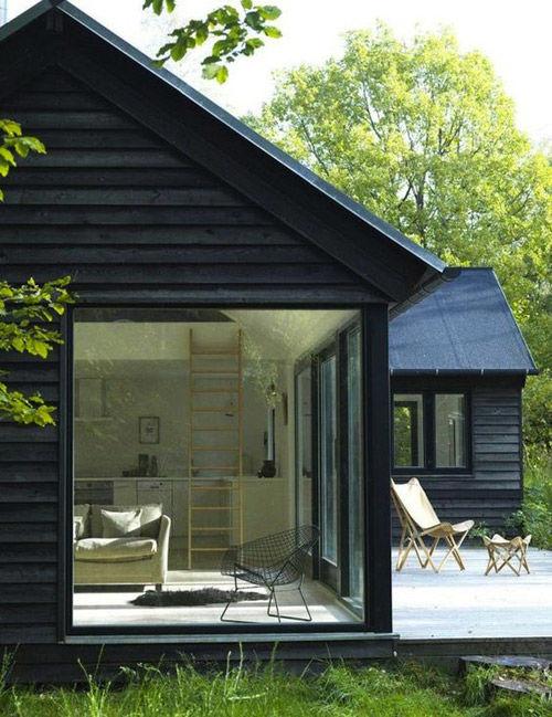 Casas de madera en los países nórdicos
