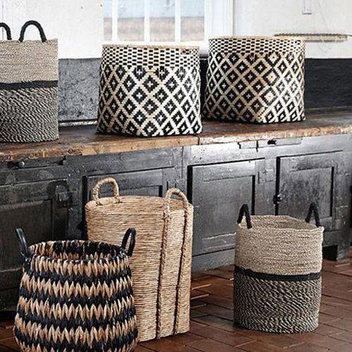 decorar con cestas de mimbre ideas de decoraci n nomadbubbles. Black Bedroom Furniture Sets. Home Design Ideas