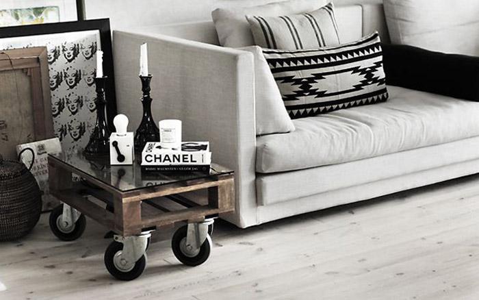 Decoración con muebles de palets