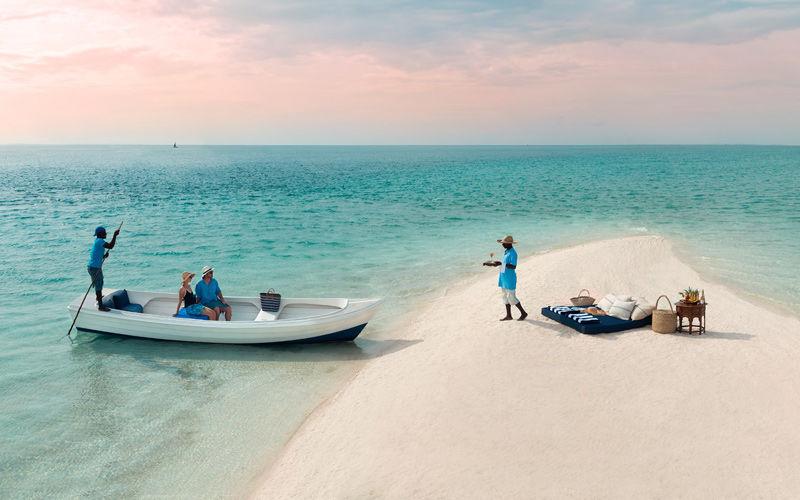hoteles de lujo en la isla de bazaruto