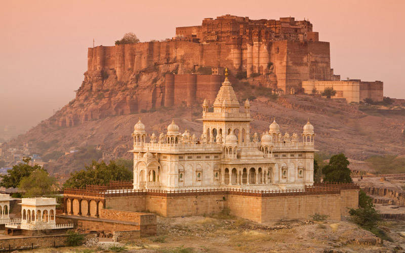 La fortaleza de Mehrangarh en Jodhpur