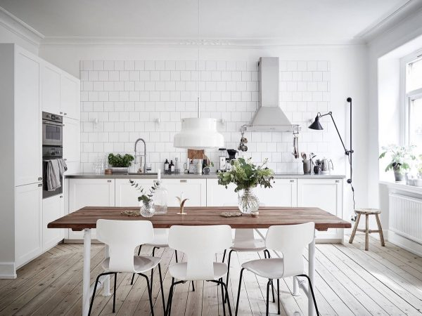 Cocina de estilo nórdico escandinavo