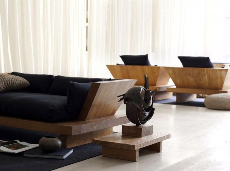 Armonía y claridad en los espacios de inspración Zen