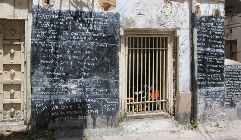 Ciudad de piedra en Zanzíbar