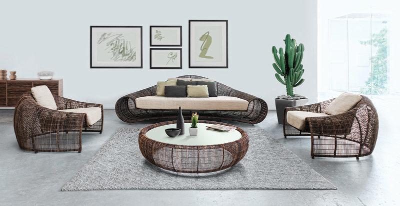 Muebles de rattán