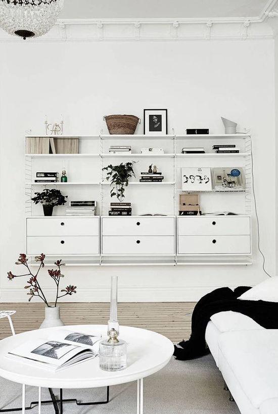 La estantería String