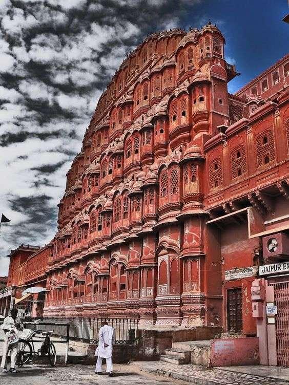 Hawa Mahal, en Jaipur, la ciudad rosa