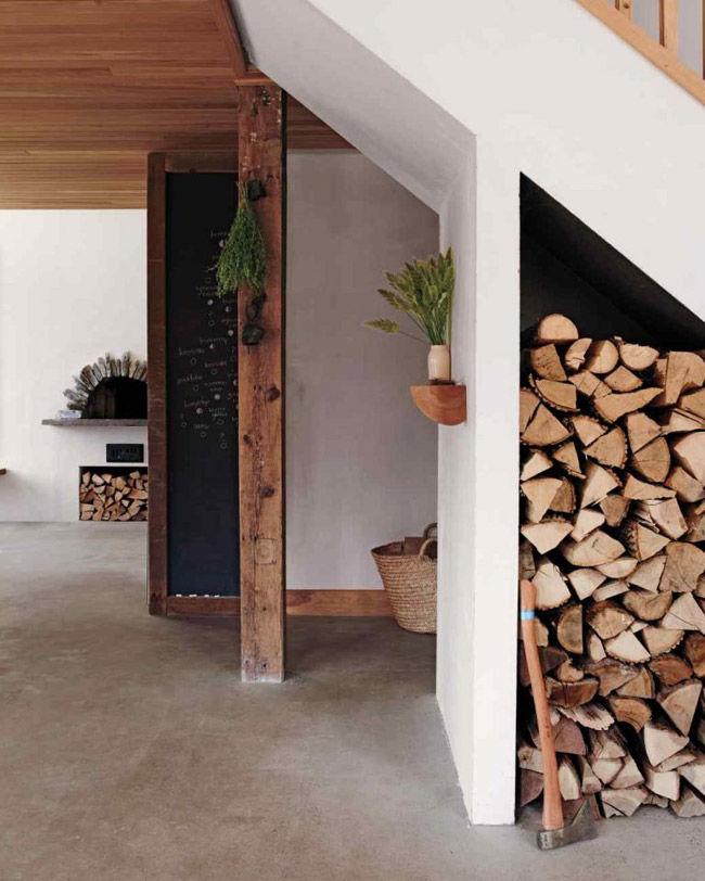 La casa de una ceramista
