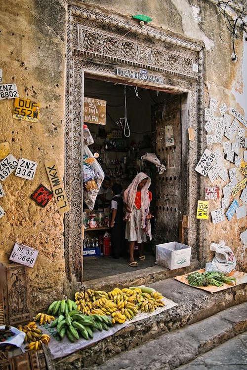 Stone Town en Zanzibar