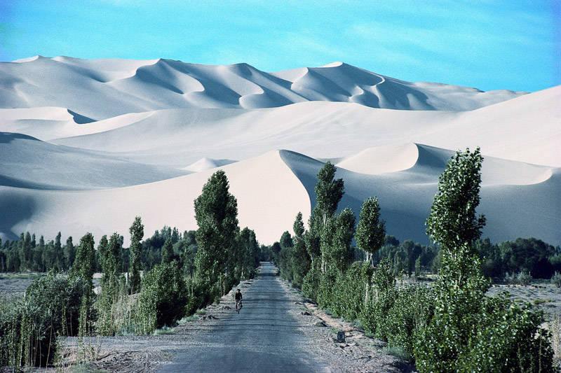 Dunas de aren aen el desierto del Gobi