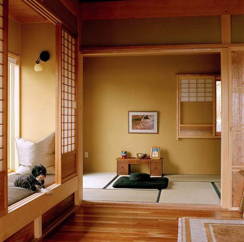 Colores influidos por la naturaleza en la decoración japonesa