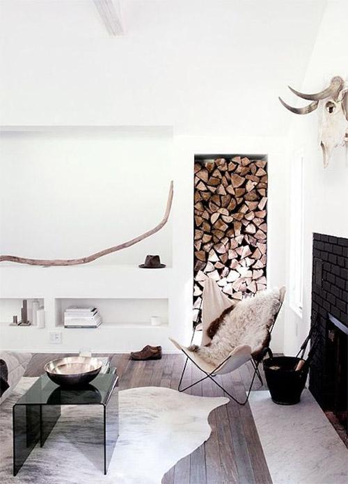 La silla Butterfly en la decoración de estilo nórdico