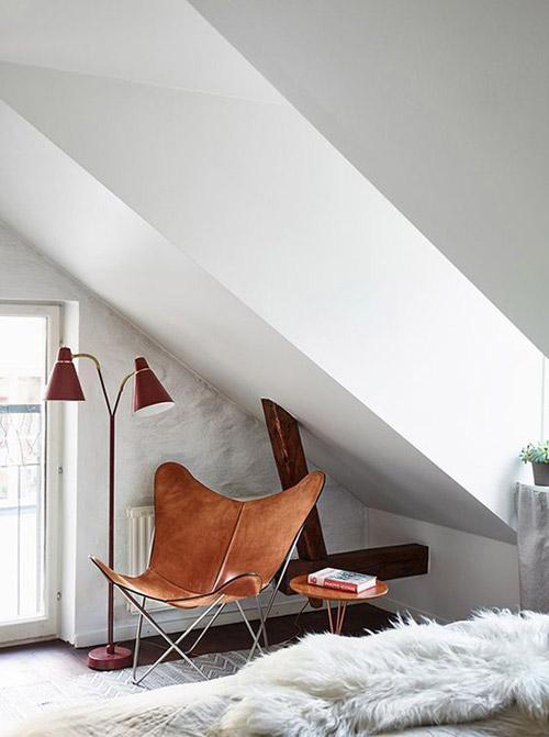 La silla Butterfly como rincón de lectura