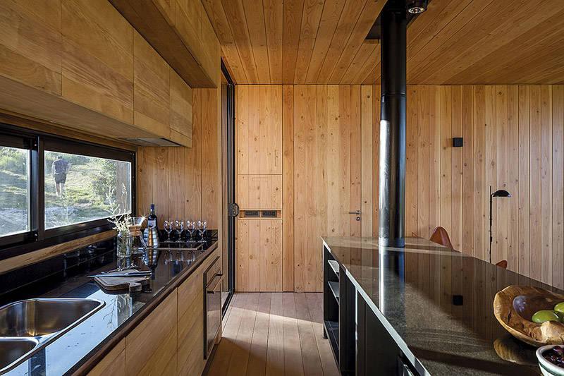 cabaña de madera bajo pedido