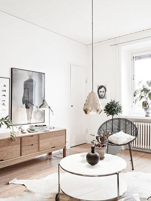 decoración con muebles nórdicos