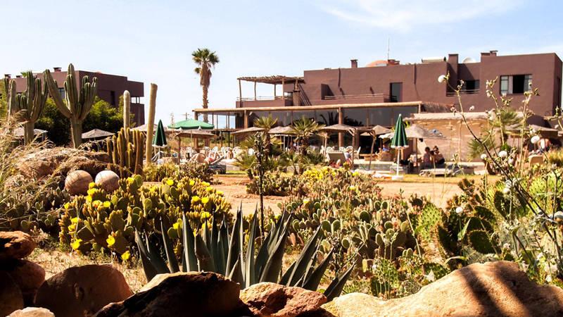 Hotel Fellah piscina