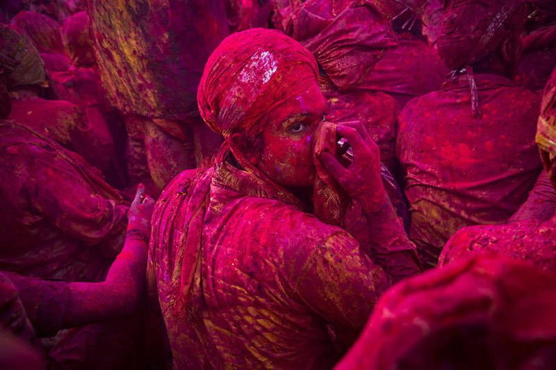Holi Festival en la India