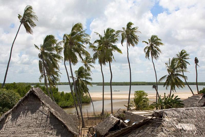 Playa de la isla de Lamu