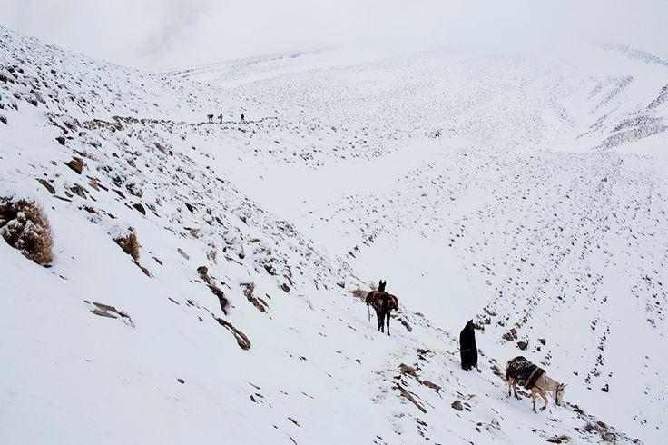 Montañas del Atlas en Marruecos