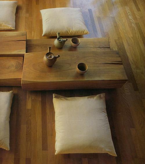Muebles en el hogar de estilo zen