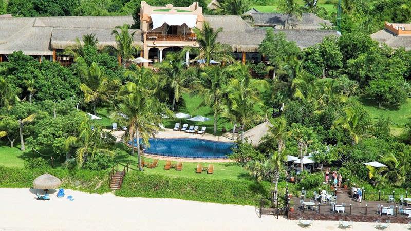 hotel de lujo en la isla de bazaruto