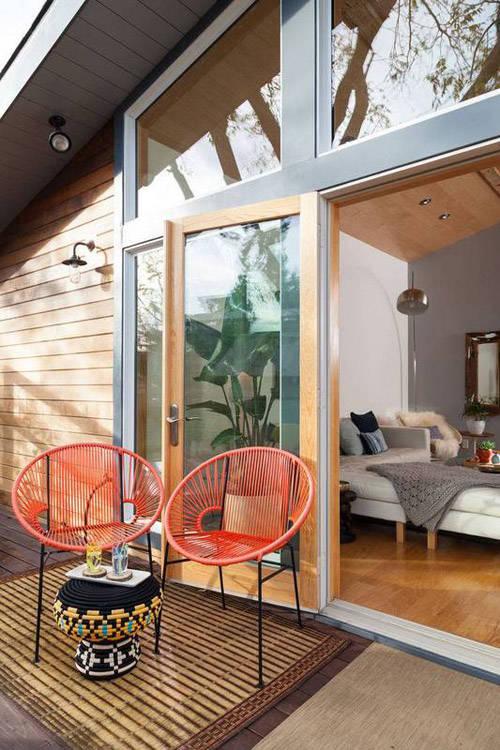 Exterior con sillas Acapulco