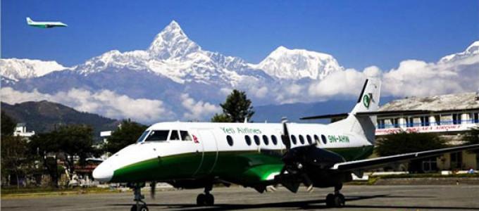 Avión desde Kathmandu hasta Pokhara
