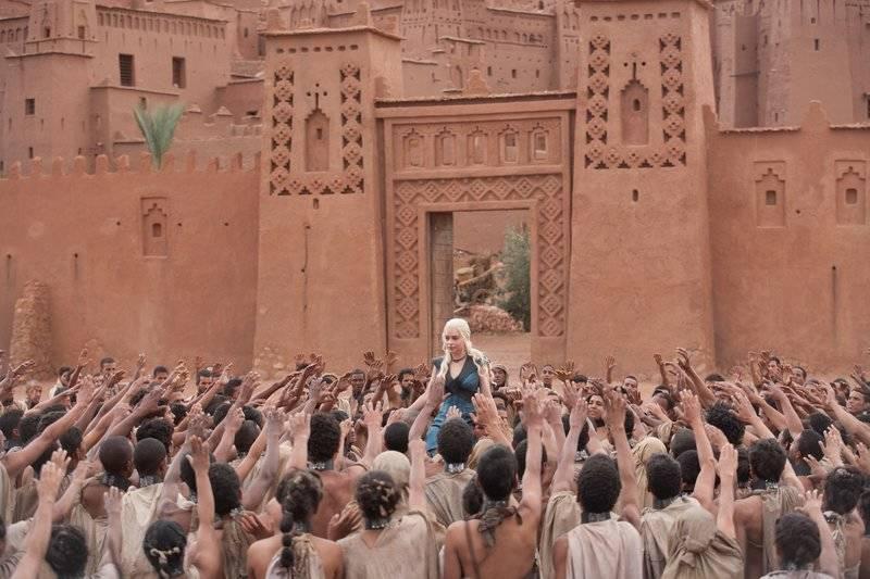 Juego de tronos en Ait Ben Haddou