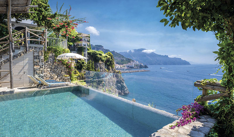 Dónde alojarse en la Costa Amalfitana
