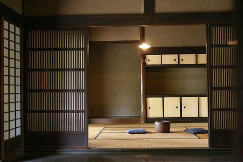 Espacios interiores en las casas tradicionales de Japón