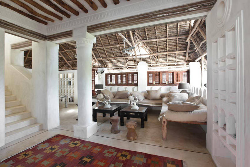 casa en alquiler con arquitectura swahili en lamu