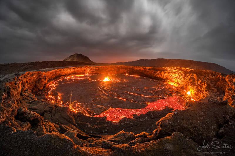 Volcán Erta Ale, Etiopía.
