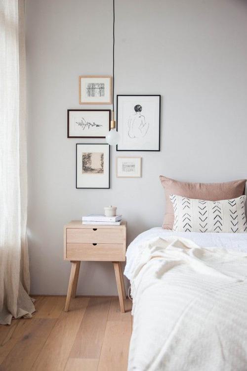 La madera en el mueble escandinavo
