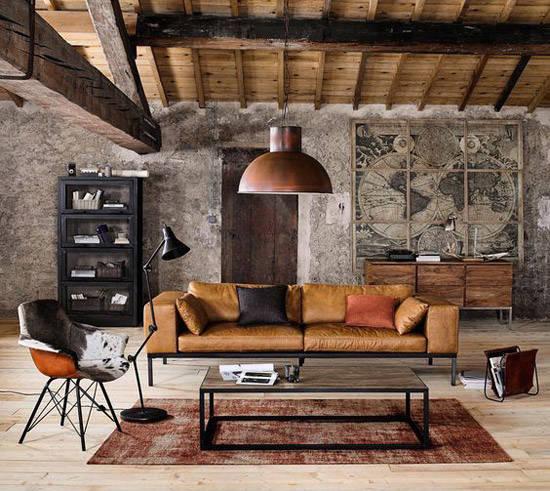 Loft con estilo industrial